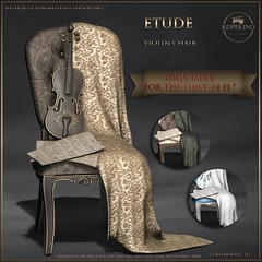 KOPFKINO - Etude Violin Chair NEW and special price!