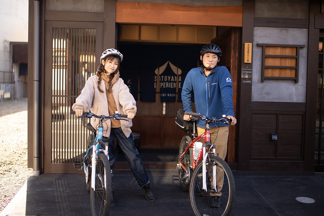 Hida-Furukawa (飛騨古川)cycling tour
