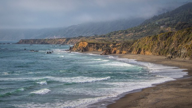 Medocino coast, California