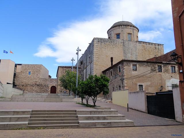 Baix Camp'20 (26-10) - Biciruta Galo de Los Campanarios-Etapa 1 Reus_la Selva 04 La Selva del Camp 09 Església de Sant Andreu 05 Pç de Les Pletes 01