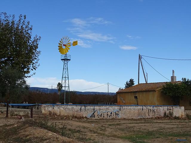 Baix Camp'20 (26-10) - Biciruta Galo de Los Campanarios-Etapa 1 Reus_la Selva 04 La Selva del Camp 01 Camí de La Serra 02 Bomba de Agua Eólica 01