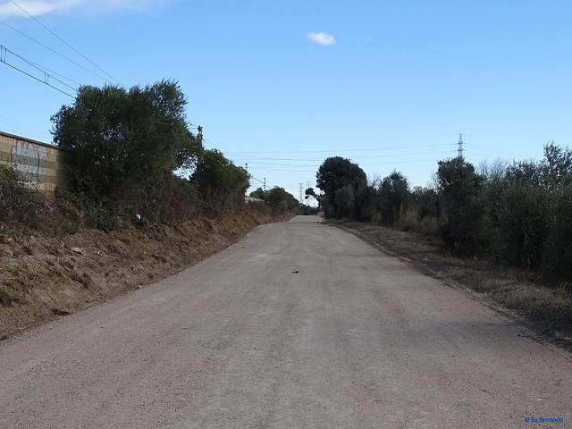 Baix Camp'20 (26-10) - Biciruta Galo de Los Campanarios-Etapa 1 Reus_la Selva 02 Reus 03 Pista y Ferrocarril Sant Vicens de Calders-Lleida 02