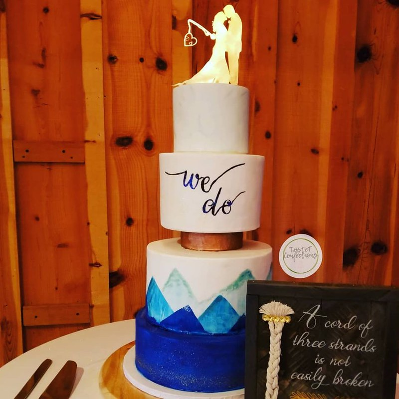 Cake by TasteT Confections