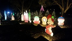 Snoopy, South Park, And Alvin At The Austin Trail Of Lights