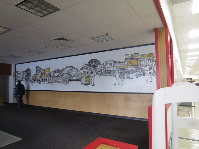 Nathan's Famous Mural