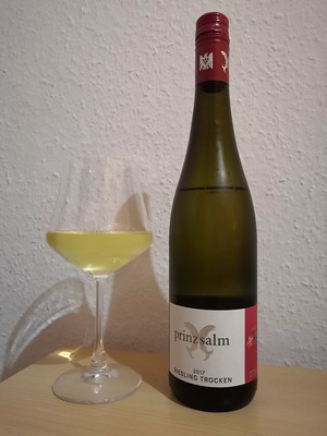 2017er Riesling trocken, Weingut Prinz Salm