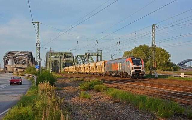 HVLE 159 003-3 - Norderelbbrücken