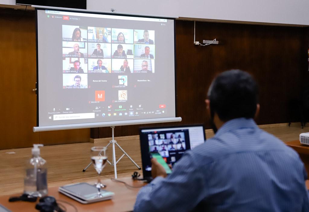2020-11-12 Sesión virtual del Concejo Deliberante