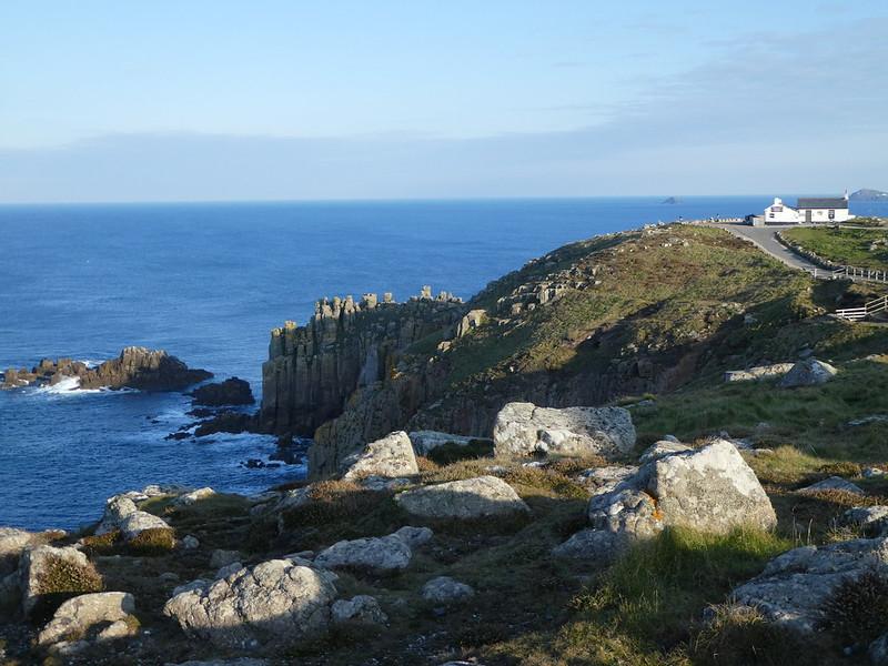 Rocky coastline at Land's End