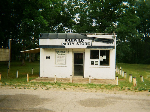 michigan idlewild store abandoned