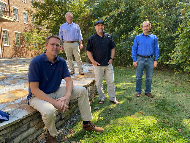Christopher Anderson, Richard Hall, Wayde Morse and Latif Kalin