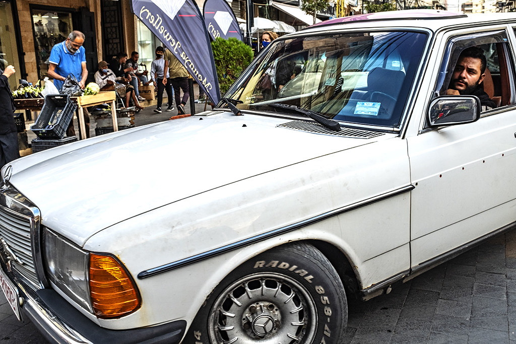 Old Mercedes Benz on 11-11-20--Sidon