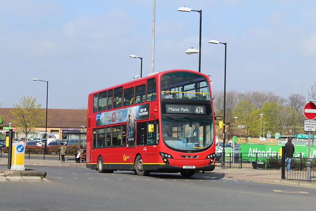Blue Triangle WVL421, LX11CXD - Route 474 | Beckton Bus Station
