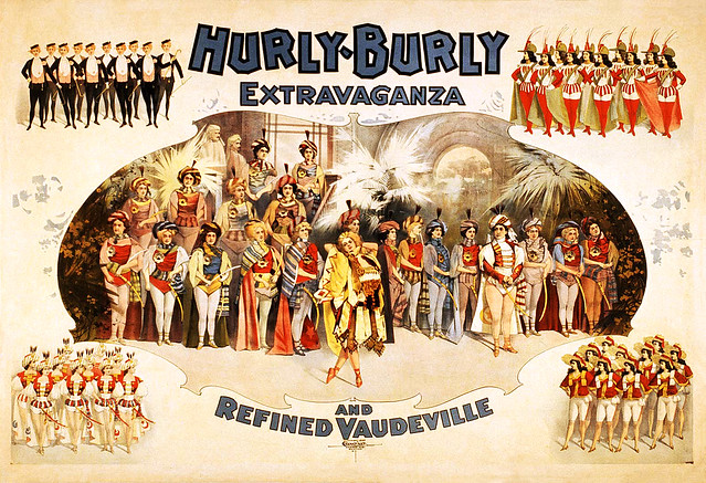 Hurly-Burly Extravaganza and Refined Vaudeville, 1899