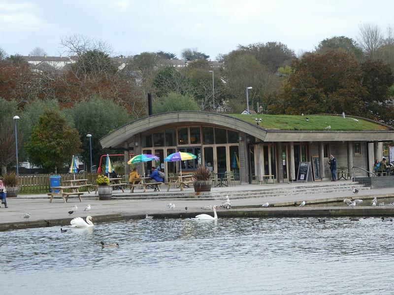 Coronation Park cafe, Helston, Cornwall