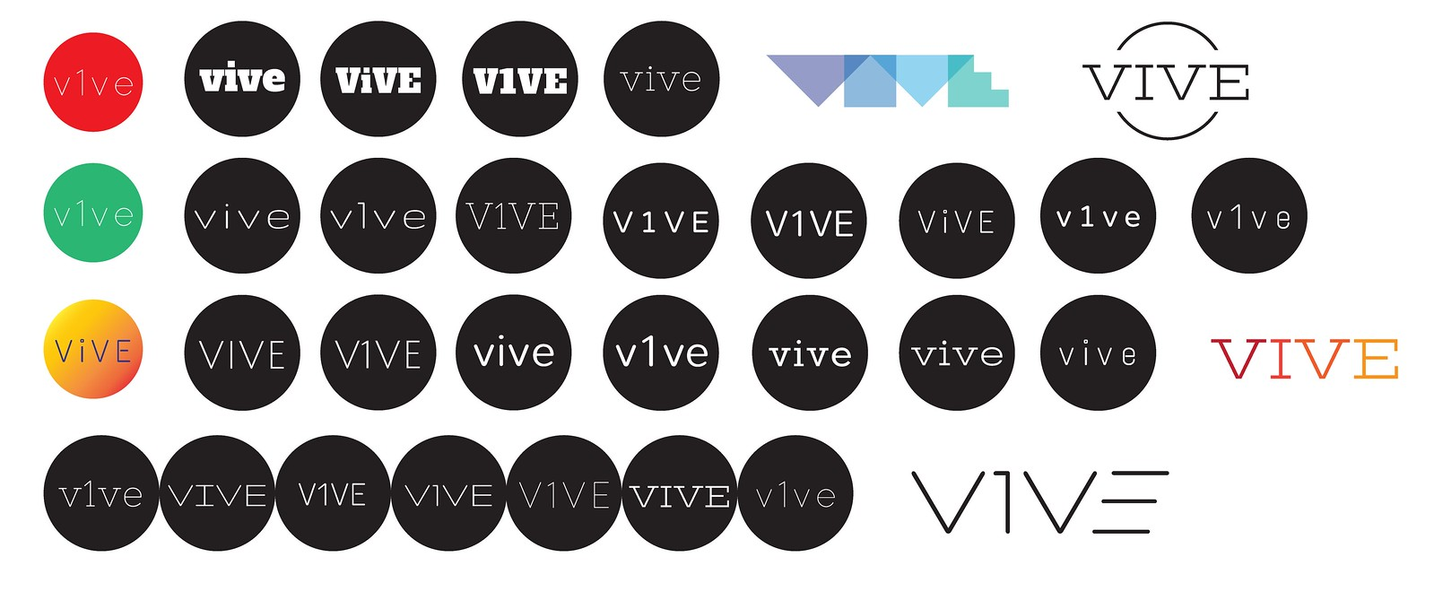 Vive - Typography Study