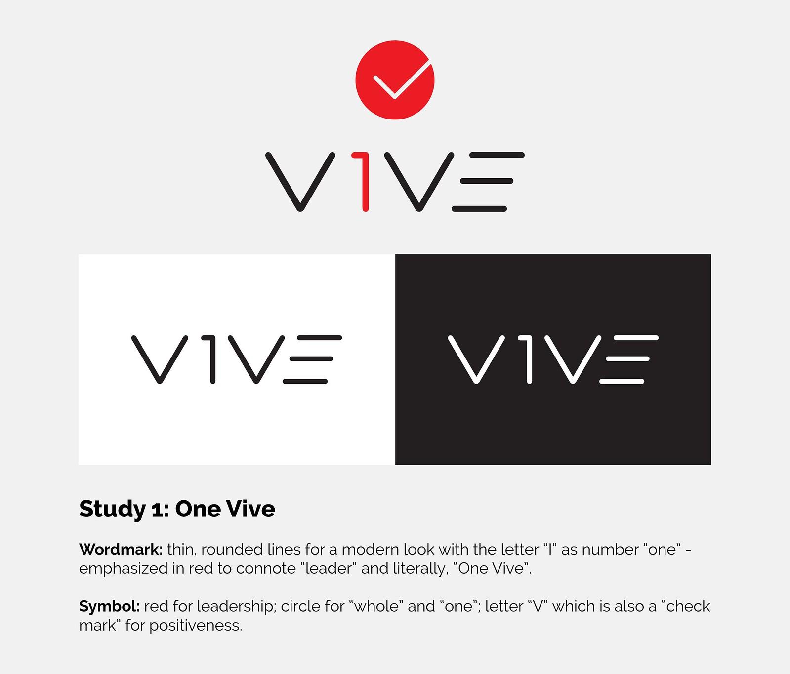 Vive - Logo - Specimen - Study 1