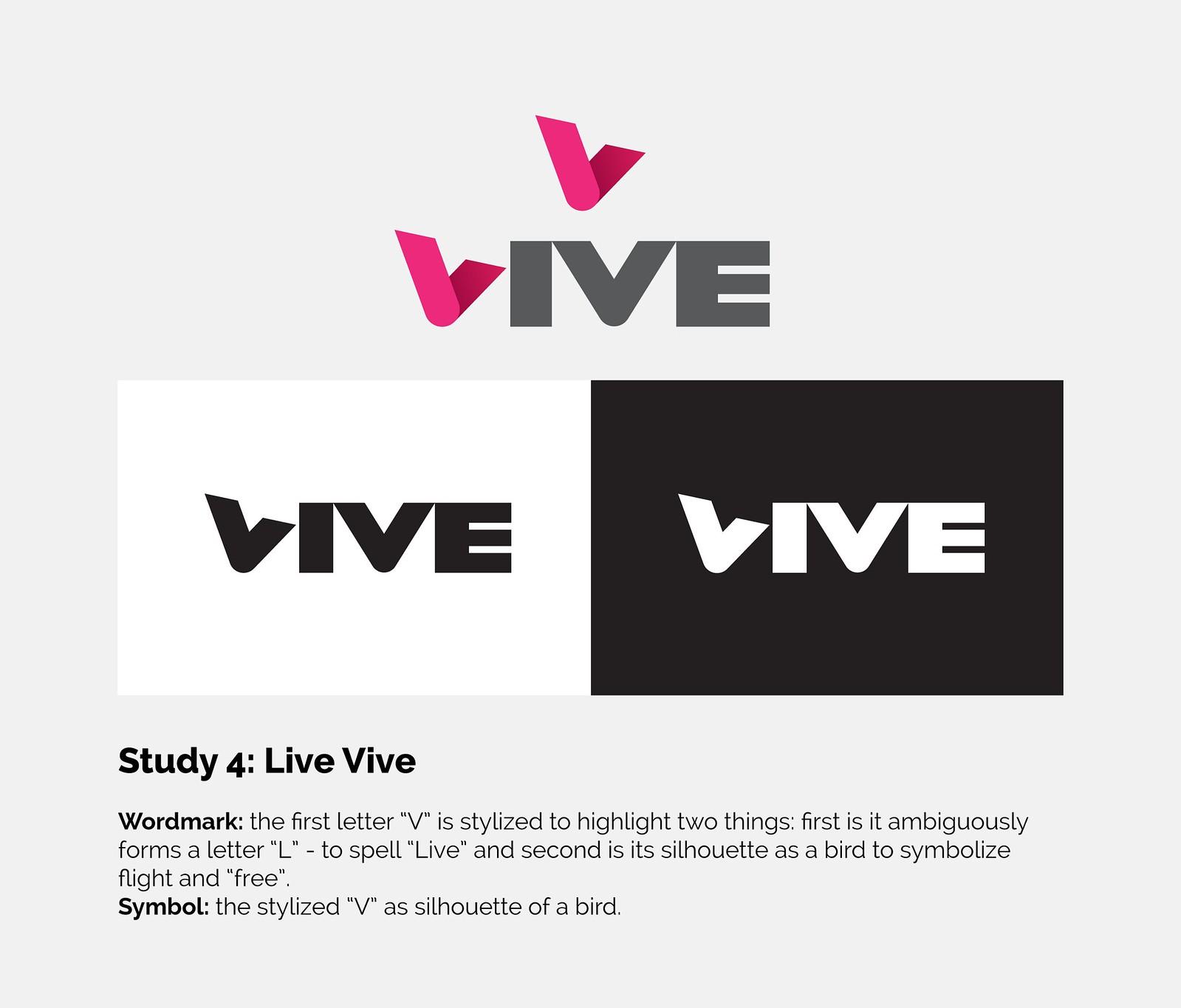 Vive - Logo - Specimen - Study 4