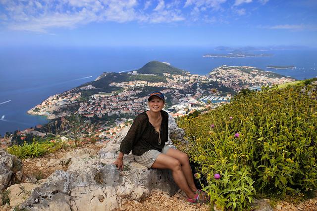 Kanitha on mountain Srđ above Dubrovnik