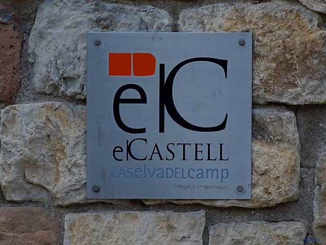 Baix Camp'20 (26-10) - Biciruta Galo de Los Campanarios-Etapa 1 Reus_la Selva 04 La Selva del Camp 10 Castell dels Paborde (de la Selva del Camp) 01 Placa 01 Pç de Sant Andreu