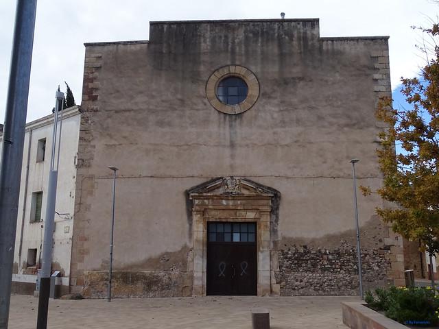 Baix Camp'20 (26-10) - Biciruta Galo de Los Campanarios-Etapa 1 Reus_la Selva 04 La Selva del Camp 06 Pç del Portal d'Avall 03 Convent de Sant Agustí 02
