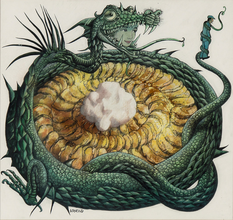 Hans Arnold - Dragon