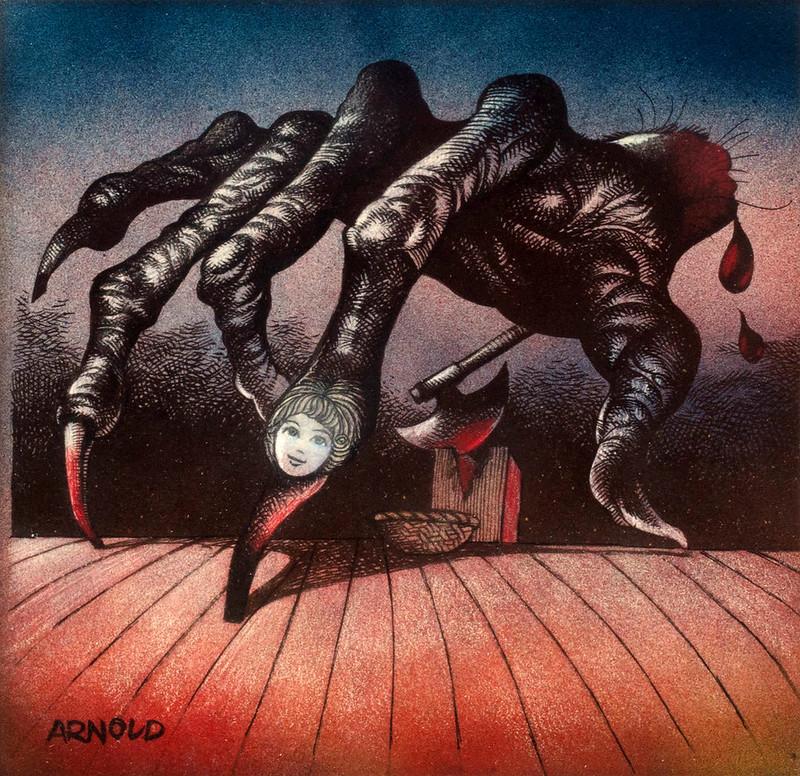 Hans Arnold - Cut Off Hand