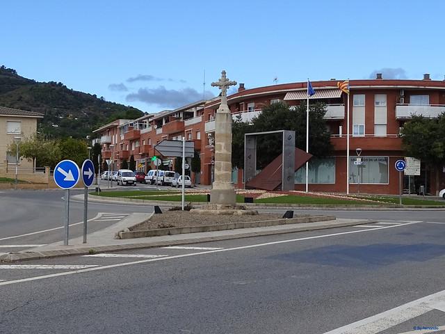 Baix Camp'20 (26-10) - Biciruta Galo de Los Campanarios-Etapa 1 Reus_la Selva 04 La Selva del Camp 03 Pç Catalunya 01 Creu de Terme del Camí de Tarragona 02