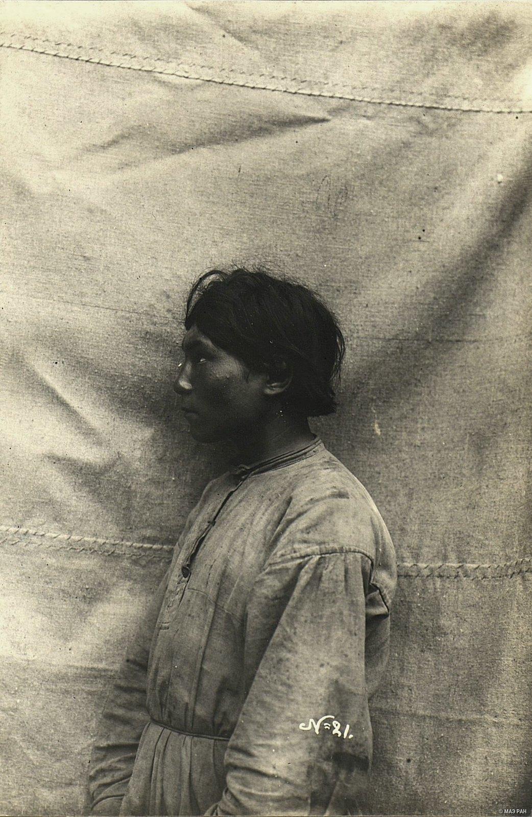 Портрет мужчины (21 год)