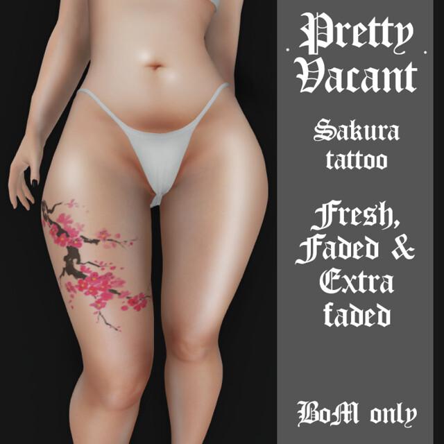 NEW Sakura tattoo