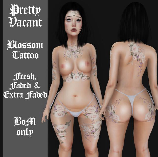 NEW Blossom tattoo