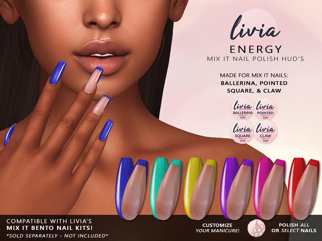 LIVIA // Mix It Polish HUD's // Energy