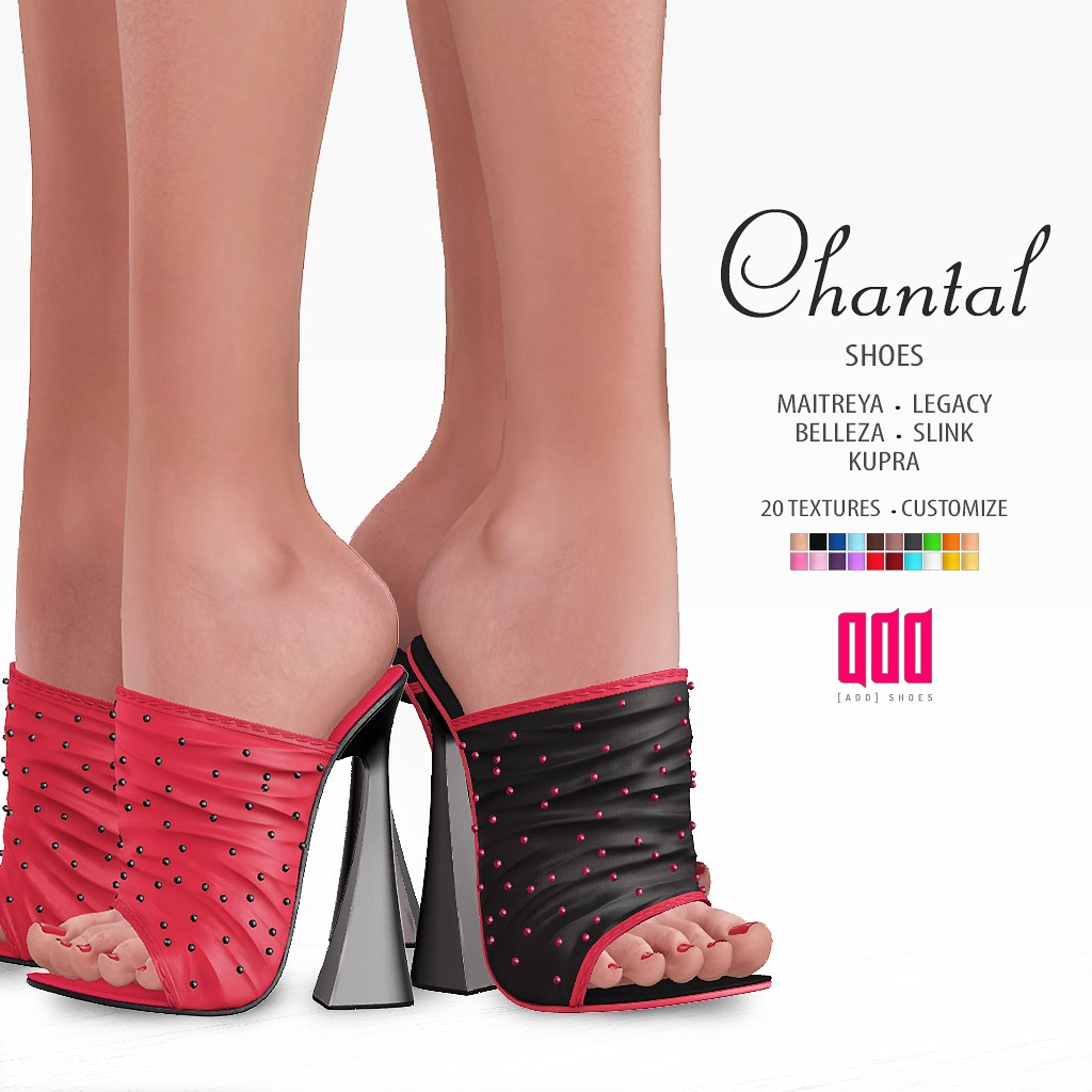 New release – [ADD] Chantal Shoes