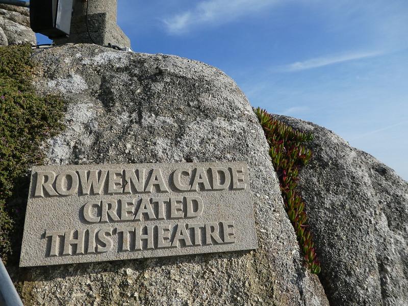 Rowena Cade, creator of the Minack Theatre