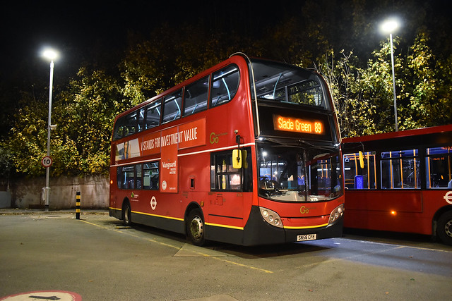 EN14 - Go Ahead London - Enviro 400 - SN58CFE - Route 89