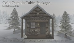 Cold Outside Cabin Package