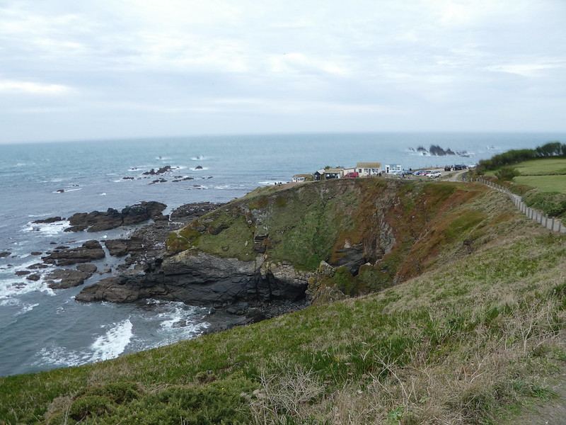 The South West Coast Path at Lizard Point