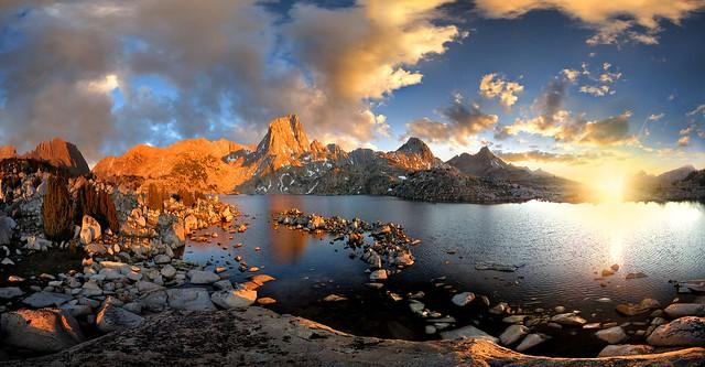 Murieal Lake Sunset 2 - Sierra