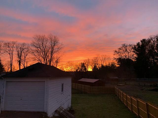 Mid-November Sunset