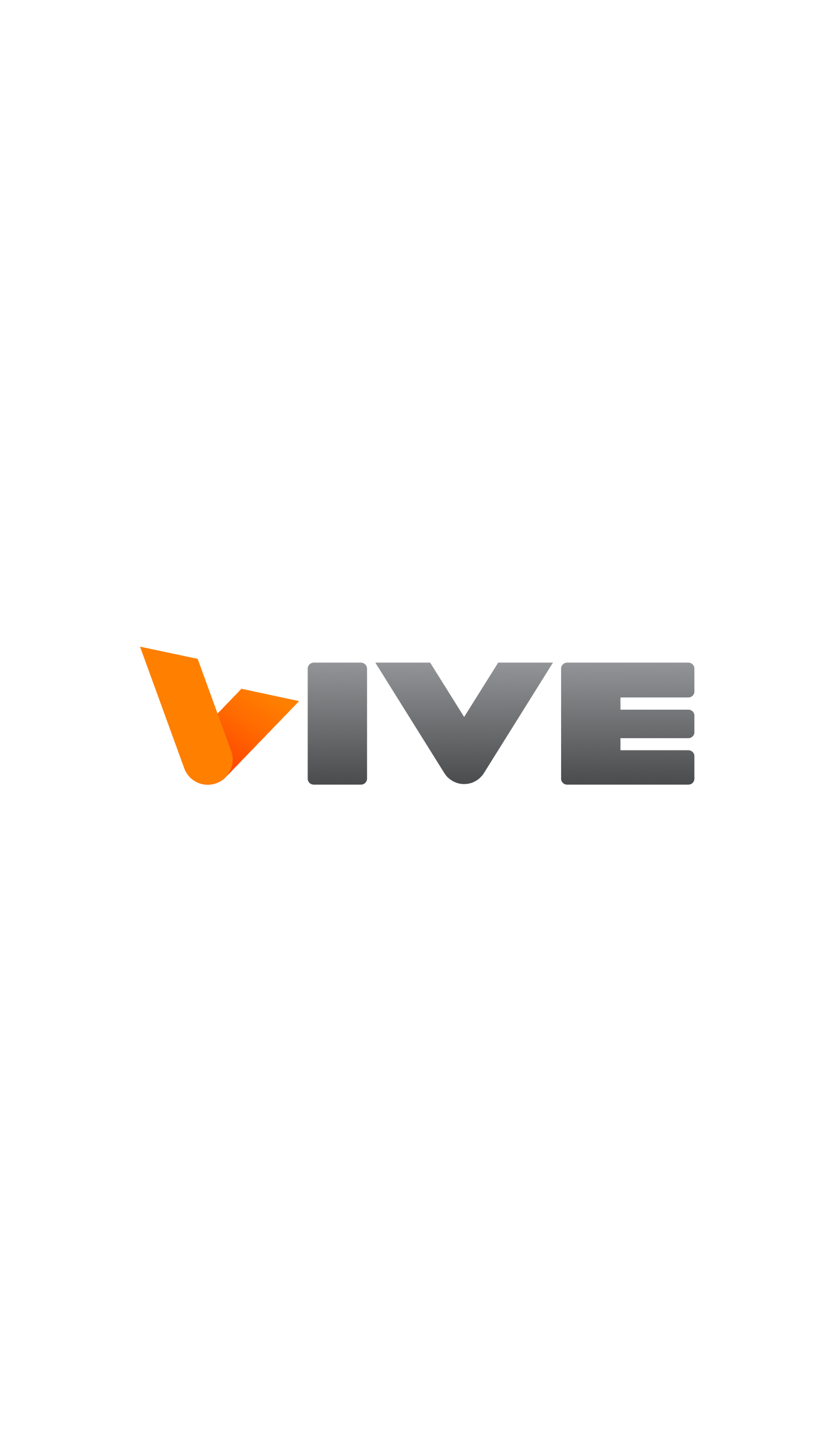 Vive - Website - Mobile - Splash