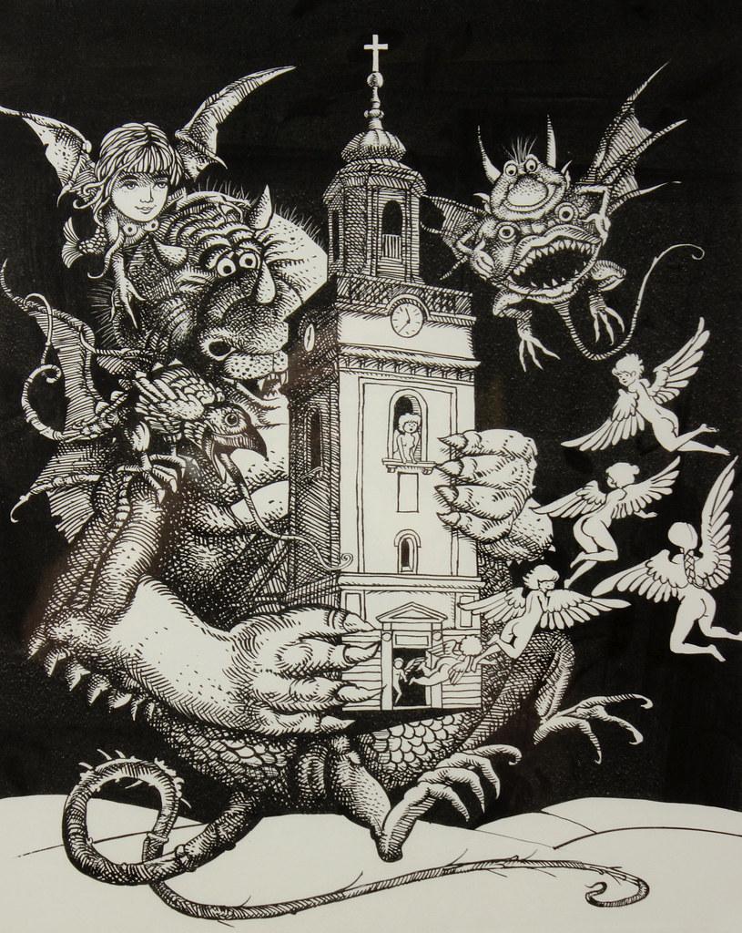 Hans Arnold - When the Devil stole Eksjoe Church