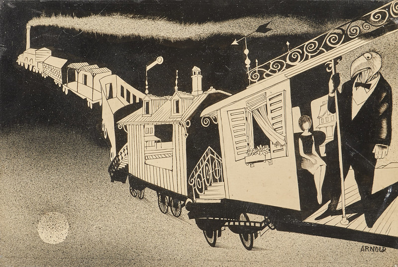 Hans Arnold - Train Carriages