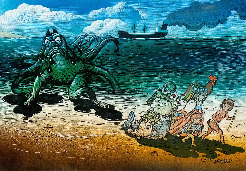 Hans Arnold - Sea Monster