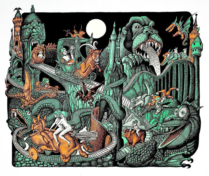 Hans Arnold - Monster Train
