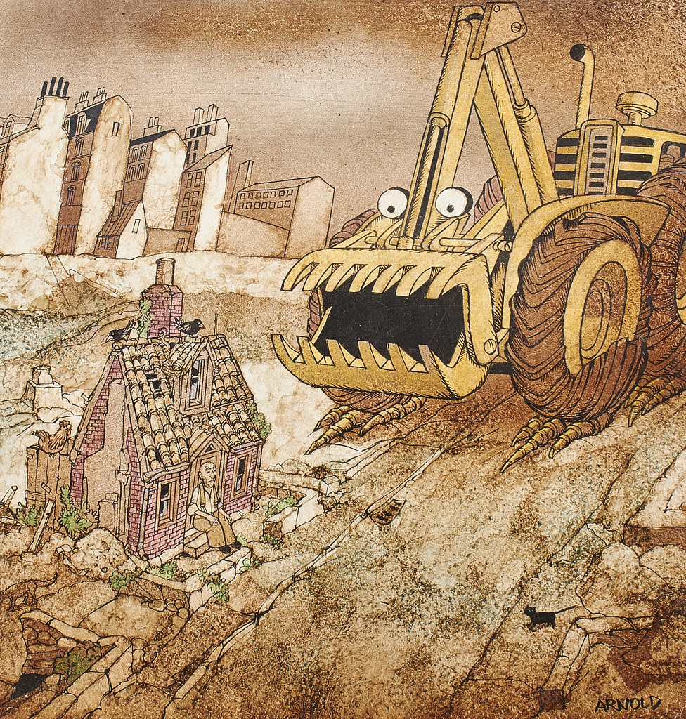 Hans Arnold - Construction Monster