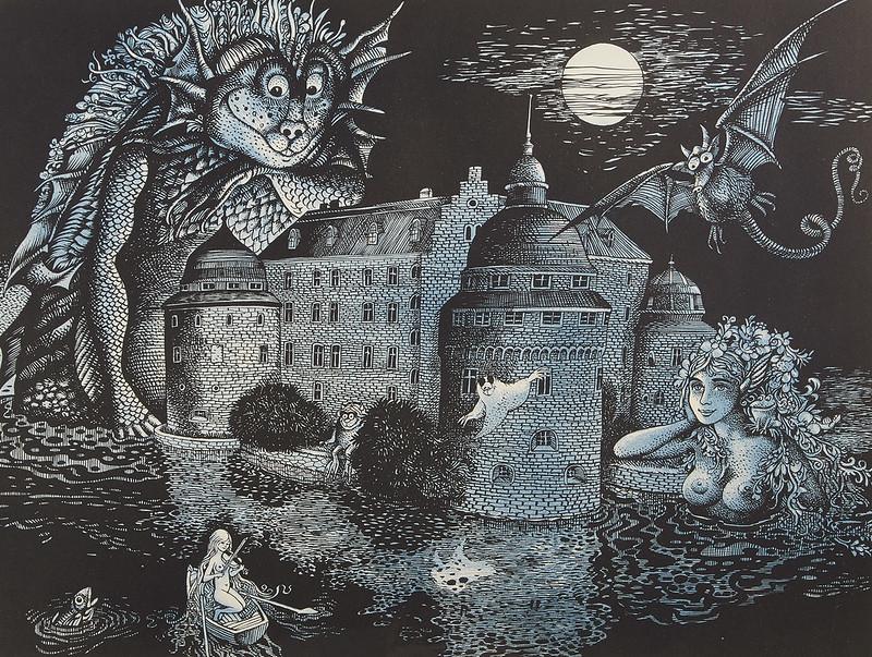 Hans Arnold - Orebro Castle, Version 2