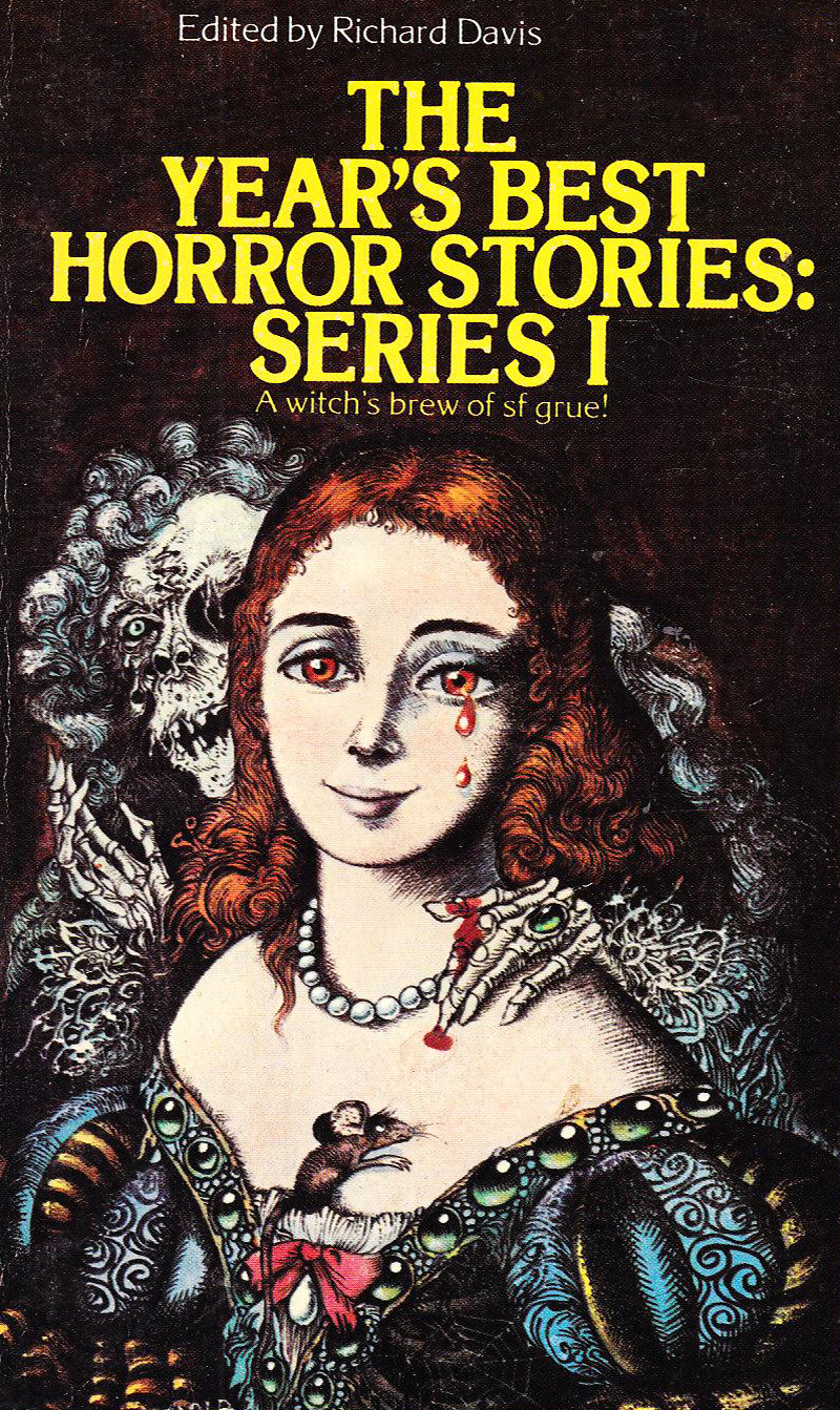 """Hans Arnold - Cover for """"The Year's Best Horror Stories, Series 1,"""" 1971"""