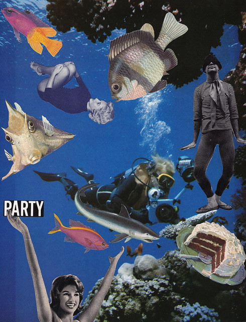CELEBRATE: Deep Sea Party Complete with Chocolate Sponge Cake