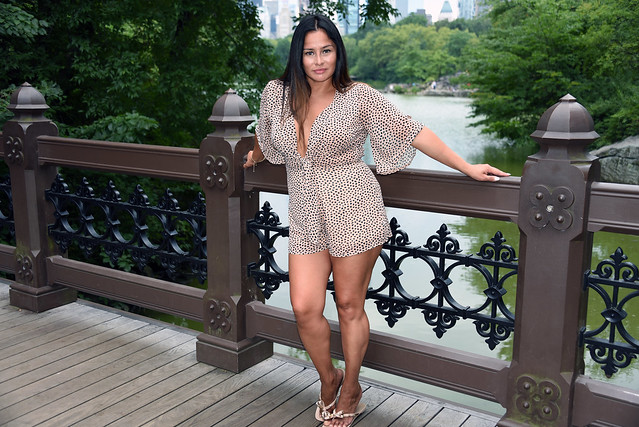 Picture Of Carolina Taken During A Summer Photoshoot In Central Park In York City; Photo Taken Saturday August 22, 2020