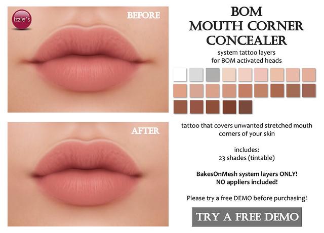 BOM Mouth Corner Concealer (for FLF)